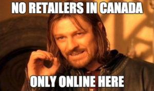 gravity bong retailers canada